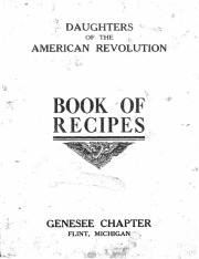 archive recipe book