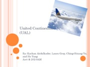 United Continental Holdings