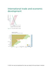 Chapter 30 - International trade and economic development
