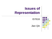 Issues of Representation