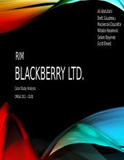 ORGA 201-CA01, BlackBerry Ltd. Presentation.pptx