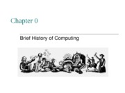 Chapter 0 History