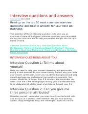 Interview questions and answers-deborah hall.docx