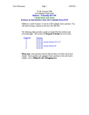 CS 38-Summer09_Midterm_ Study Guide