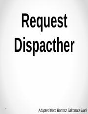 Request-Dispatcher.ppt