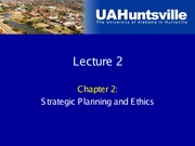 Lecture 2-Planning and Ethics
