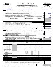 F4626 Form 4626 Department Of The Treasury Internal Revenue