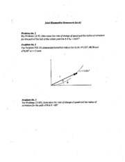 Joint Kinematics HW Set #2