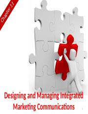 Chapter 11 (Designing & Managing Integrated Marketing Communications).pptx