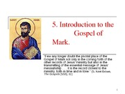 5 Intro to Mark