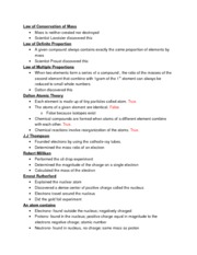 Chemistry Chapter 2 Notes