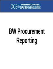 BW-Procurement-Reporting.ppt