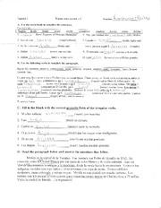 Spanish 2 Reflexive Verbs Worksheet | Course Hero