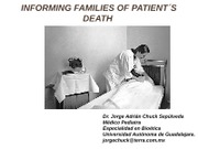 9. INFORMING FAMILIES OF PATIENT_S DEATH