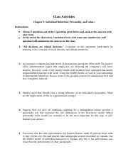 Class Activities – Critical Thinking Questions – CH 2.docx