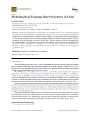 Modeling Real Exchange Rate Persistence in Chile.pdf