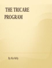 HCR 230 Week 4 Checkpoint The Tricare Program.pptx