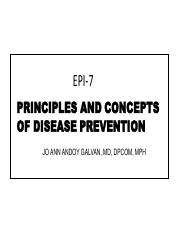 EPI- 7 Principles and Concepts of Disease Prevention.pdf