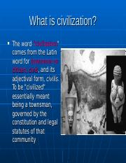What is civilization.ppt