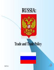 LECTURE 2 2015 TRADE AND TRADE POLICY.ppt