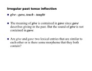 past tense debate notes