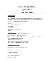 Th 325 Final Study Guide S17.docx