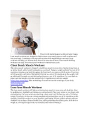 lean workout ideas