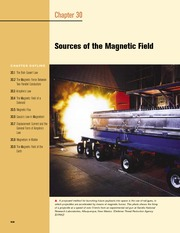 30 - Sources of the Magnetic Field