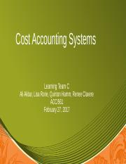 Team C Cost Accounting Sys FINAL.pptx