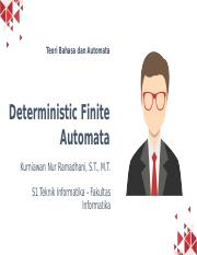 3. Deterministic Finite Automata.pptx