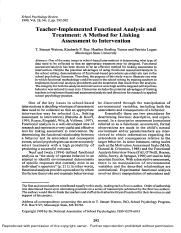 Teacher implemented functional analysis and treatment.pdf