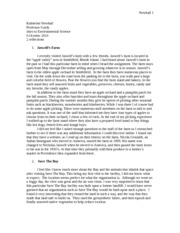 Jaswell Farm and save the bay homework paper