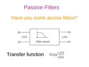 Basic Electronics -filters_ppt