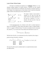 Lecture 10 Notes Diffusion Property