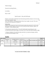(6.04 Assignment) Special Journals - Sales and Cash Receipts.docx
