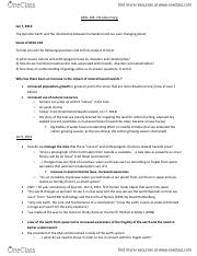 Geology 106 Notes