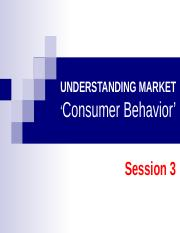consumer behavior session 2 Consumer behavior ii: judgment and decision making b9610-15 consumer behavior i session 2 (september 15.