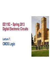 Ee115c_s13_Lecture-07_CMOS-Logic