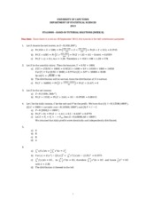 2013 - STA1000S Handin tutorial week 8 answers