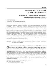 Women in Conservative Religions and Agency copy.pdf