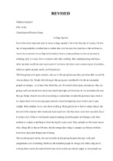 classification-division essay