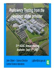 Proficiency Testing from the viewpoint of the provider.pdf
