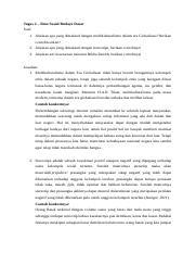 Tugas 2 - isbd.docx - Tugas 2 \u2013 Ilmu Sosial Budaya ...