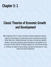 Chapter 3-1 Classic Growth and Development Models.ppt