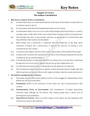 08_social_science_civics_key_notes_ch_01_the_Indian_constitution