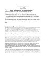 Stand Firm SUNDAY SCHOOL LESSON 9 22 2015.docx