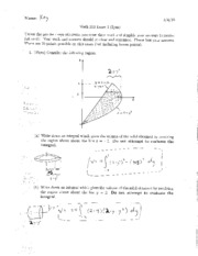 Exam 2 Solutions 2010