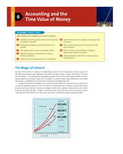 Chapter 6 Accounting and the Time Value of Money