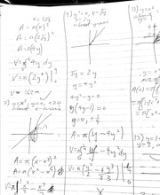 Calculus 1501 Integration by parts Homework