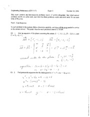 Fall 06 Exam 2 solutions